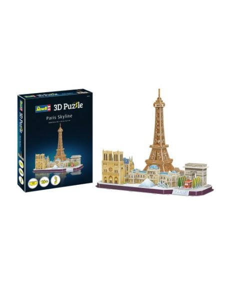 Puzzle 3D Revell Paris Skyline
