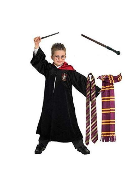 Robe, baguette, écharpe et cravate Warner Harry Potter