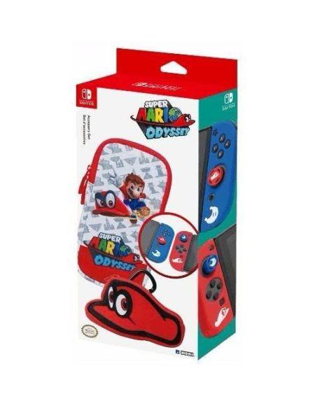 Set d'accessoires Hori Mario Odyssey pour Nintendo Switch