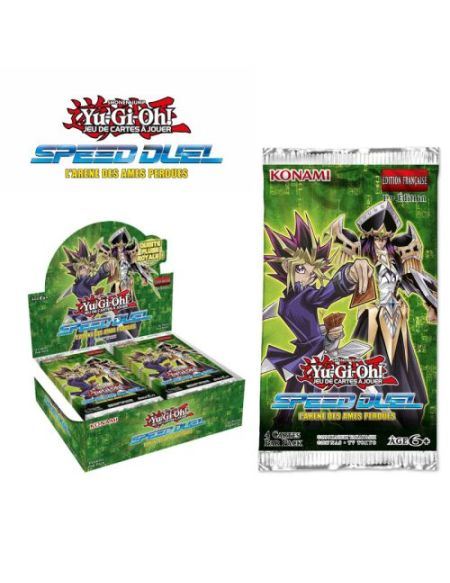 Booster Yu-Gi-Oh! LArène des Ames Perdues