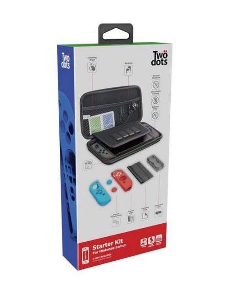 Starter Kit Two Dots Etui rigide avec accessoires pour Nintendo Switch
