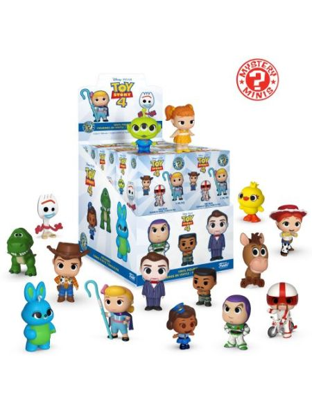 Figurine Funko Pop Mystery Mini Toy Story 4 12 pièces PDQ Modèle aléatoire
