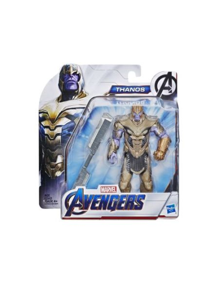 1 figurine Hasbro Marvel Avengers Titan Hero Movie Modèle aléatoire Iron Man ou Cap ou Black Widow ou Thor ou Ronin ou Black Panther