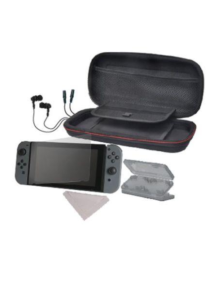 Starter pack 6-en-1 Alpha Omega Players Noir pour Nintendo Switch