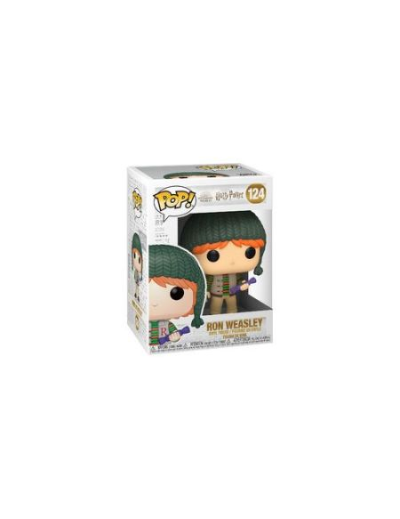 Figurine Funko Pop Harry Potter Holiday Ron Weasley