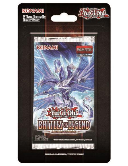 Jeu de cartes Yu-Gi-Oh! Batailles de Légende Armageddon