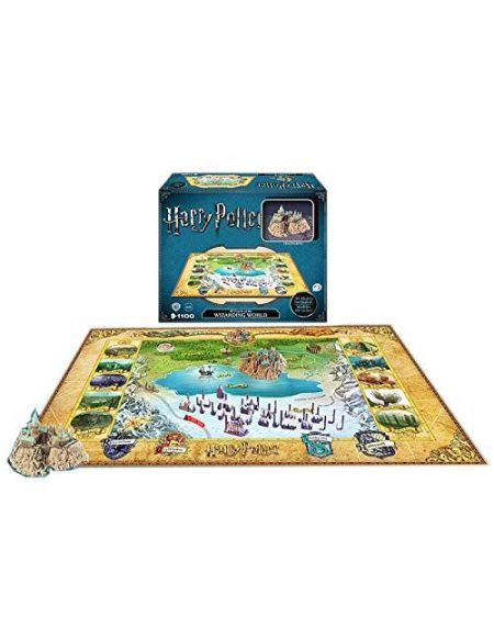 Puzzle de 892 pièces 4D Cityscape The Wizarding World