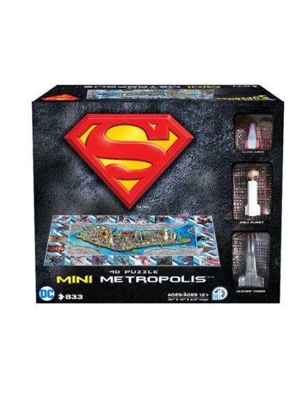 Puzzle 4D Cityscape Superman Ville de Metropolis