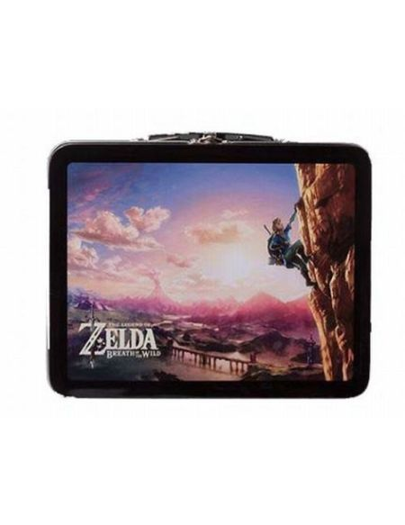 Kit Lunch Box Nintendo Zelda Breath of the Wild Edition Climbing Link pour Nintendo Switch
