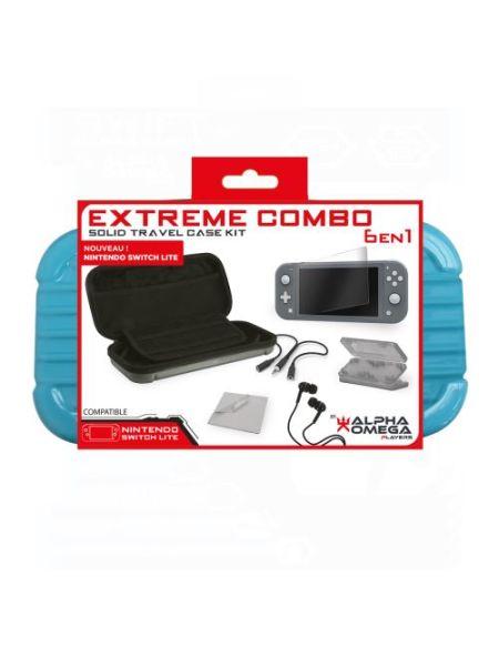 Pack accessoires Extreme 6-en-1 Bleu pour Nintendo Switch
