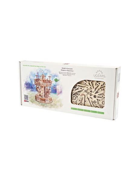 Puzzle 3D Ugears Carrousel
