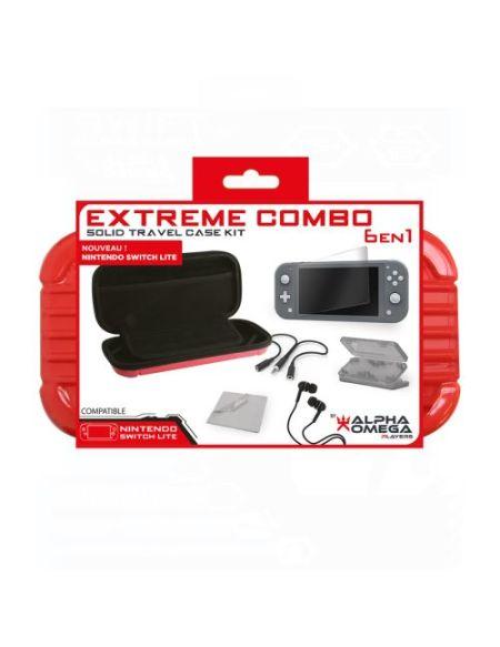 Pack accessoires Extreme 6-en-1 Noir pour Nintendo Switch
