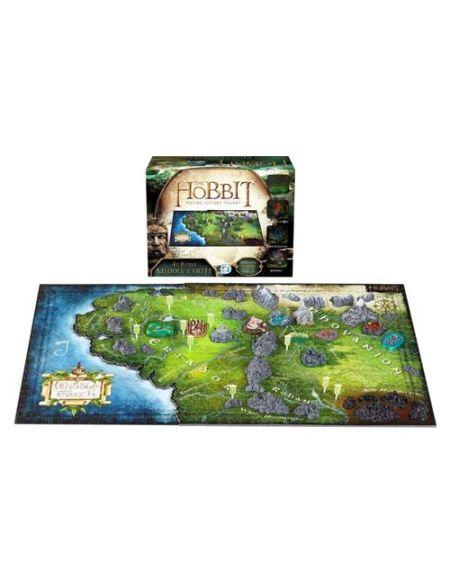 Puzzle de 1390 pièces 4D Cityscape Le Hobbit La Terre du Milieu
