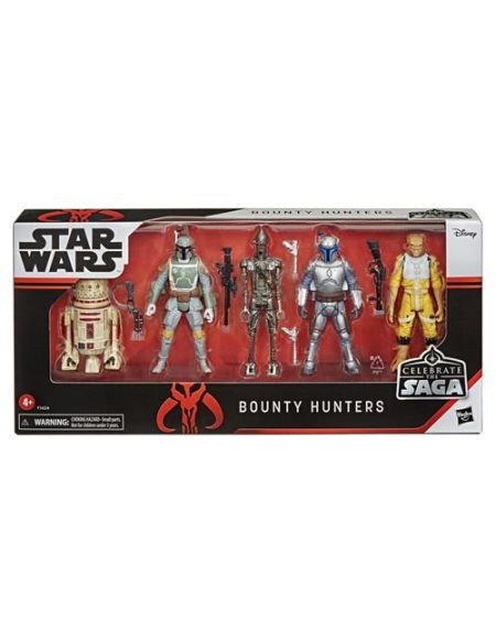 Figurines Star Wars Celebrate the Saga Bounty Hunters