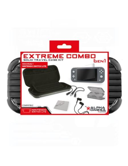 Pack accessoires Extreme 6-en-1 Rouge pour Nintendo Switch