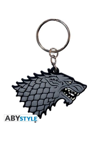 Porte-clés ABYstyle Game of Thrones Stark en PVC