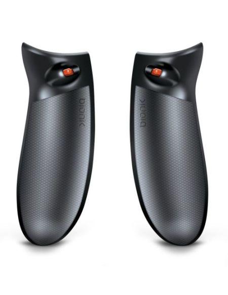 Grip Bionik QuickShot pour Manette Xbox One Noir avec Réglages gachettes