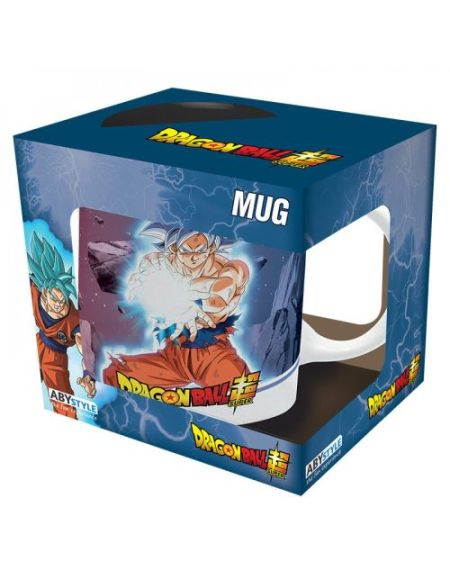 Mug ABYstyle Dragon Ball Super Goku Ultra Instinct vs Jiren