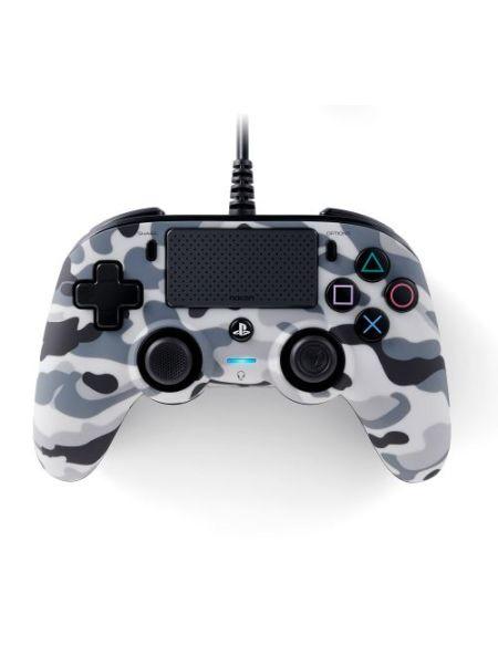 Manette filaire Nacon Compact PS4 Camo Gris