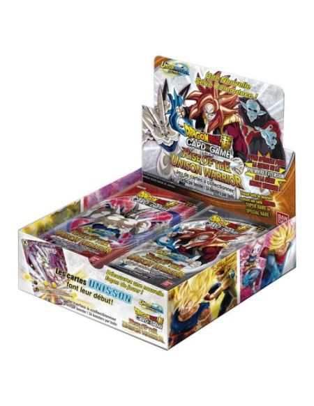 Jeu de cartes Bandai-Dragon Ball Z Pack Unison Warrior 1