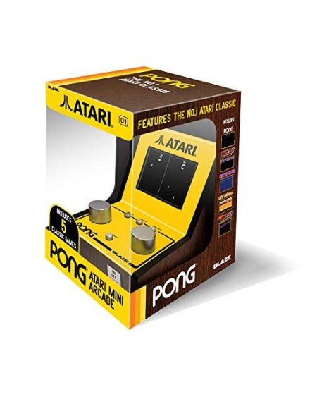 Console Atari Pong Mini Arcade avec 5 jeux