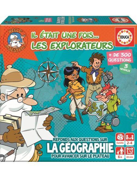 Jeu de société Educa Il était une fois Les Explorateurs