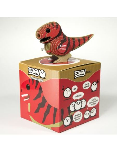 Puzzle Dodoland 3D Eco Dino Tyranosaure