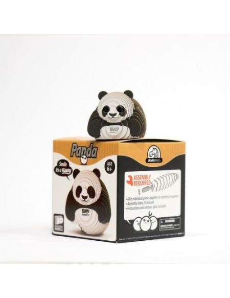 Puzzle Dodoland 3D Eco Animaux sauvages Panda