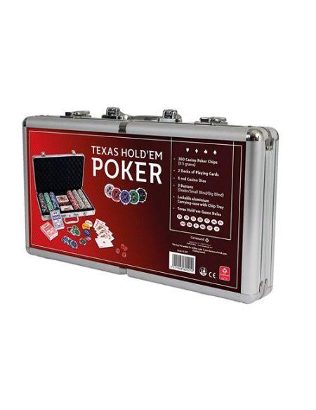 Jeu de société Cartamundi Mallette classique Poker