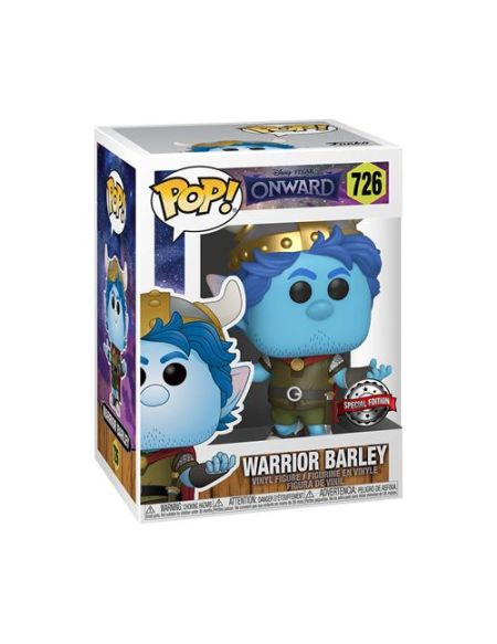 Figurine Funko Pop Disney Onward Warrior Barley