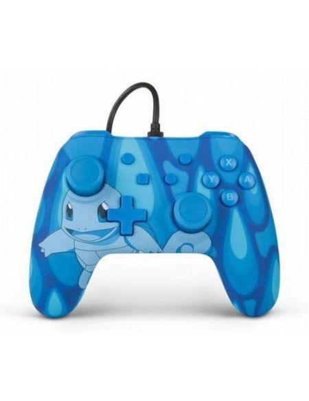 Manette Nintendo Switch filaire Pokémon Carapuce Bleu