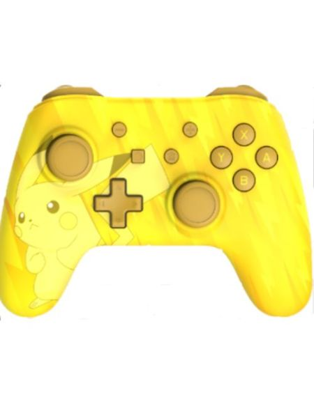 Manette Nintendo Switch filaire Pokémon Pikachu Jaune