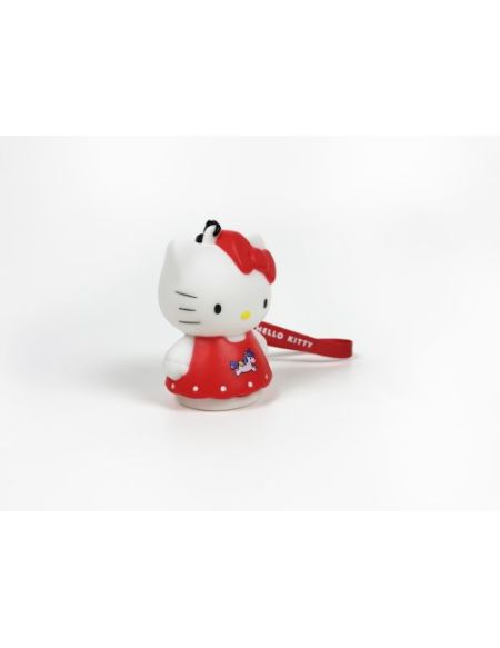Figurine lumineuse Hello Kitty Teknofun avec dragonne assortie