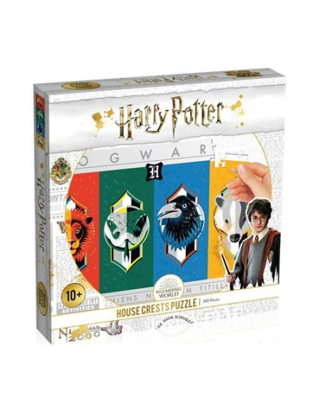 Puzzle Winning Moves Harry Potter House Crests 500 pièces