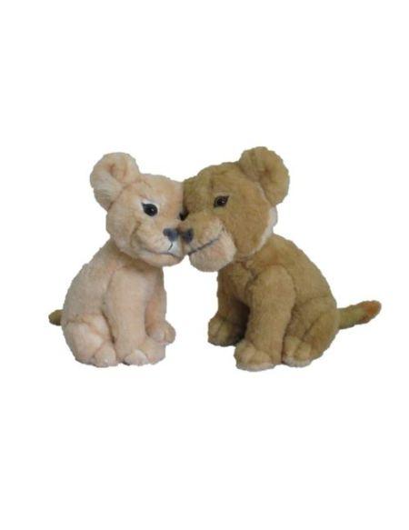 Pack de 2 peluches Disney Le Roi Lion Simba et Nala 17 cm