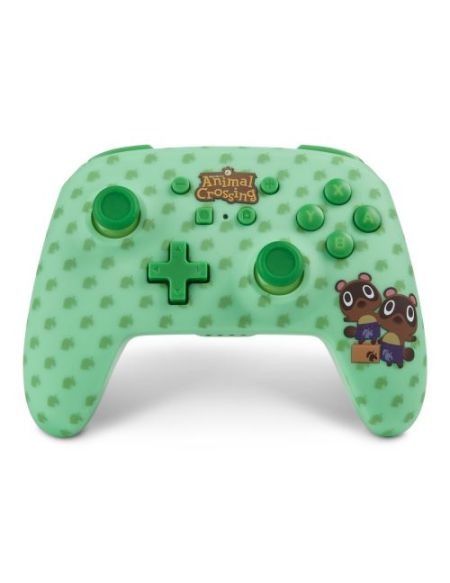 Manette PowerA Animal Crossing Timmy et Tommy Nook pour Nintendo Switch