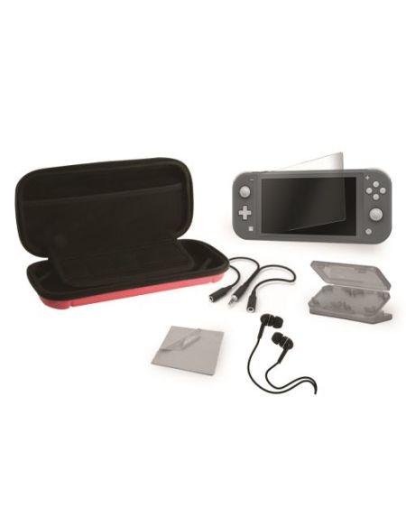 Pack accessoires Extreme 6 en 1 Rouge pour Nintendo Switch Lite