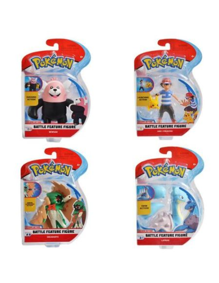 Figurine articulée 12 cm - Pokémon - Lokhlass