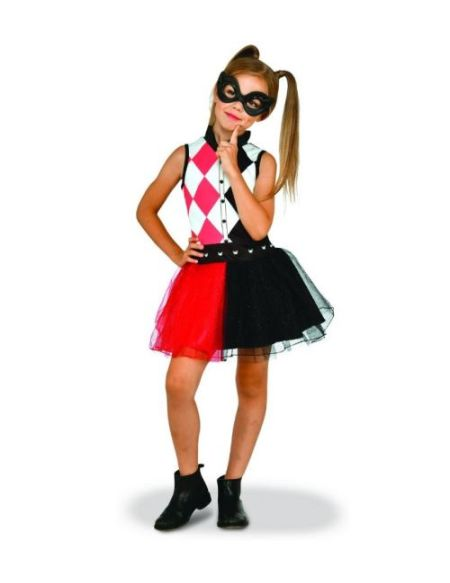 Robe tutu et loup Warner Harley Quinn 4-6 ans