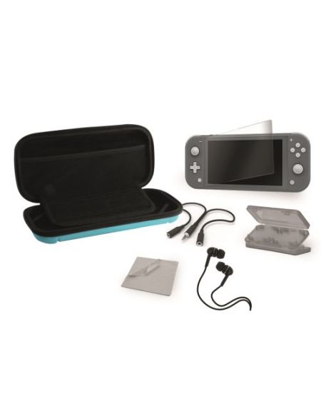 Pack accessoires Extreme 6 en 1 Bleu pour Nintendo Switch Lite