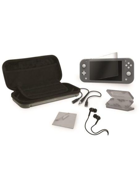 Coque rigide Alpha Omega Players pour Nintendo Switch Lite Noir