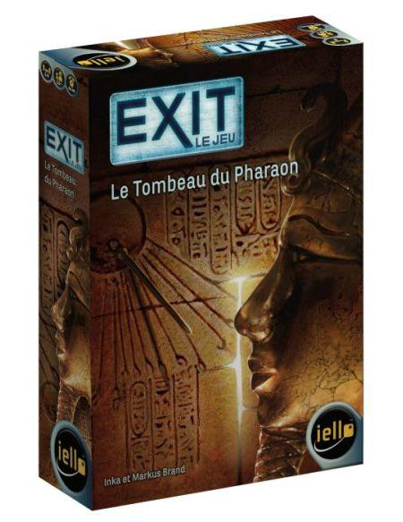 Jeu de société Iello Exit Le tombeau du pharaon