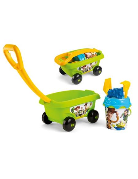 Chariot de plage garni Smoby Toy Story