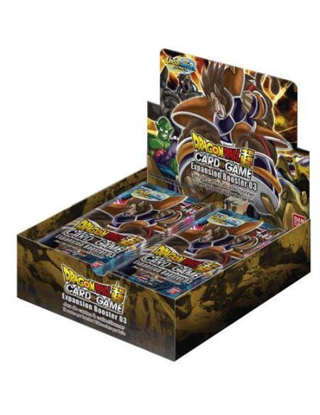 Jeu de cartes Bandai Dragon Ball Z JCC Expansion Booster 3 Modèle aléatoire