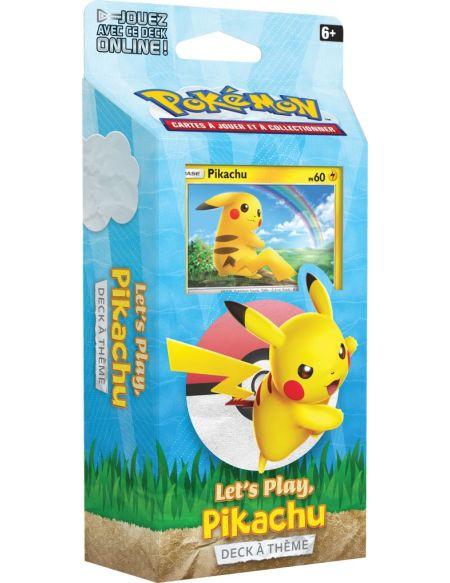 1 Deck de 60 cartes Pokémon Hors Série Pikachu ou Evoli Modèle Aléatoire