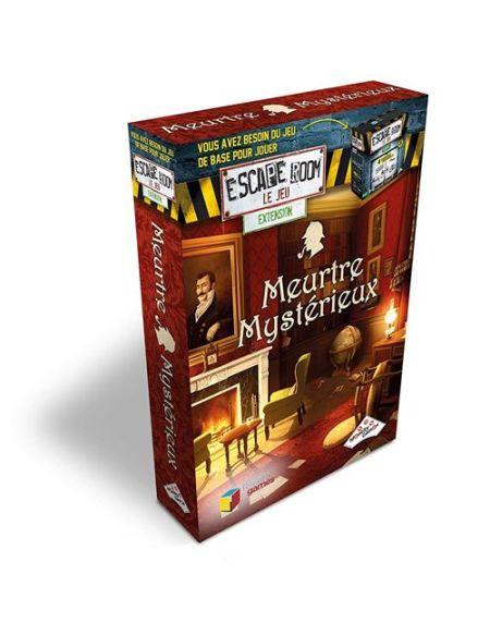 Jeu de société Identity Games Escape Room Pack extension Meurtre mystérieux