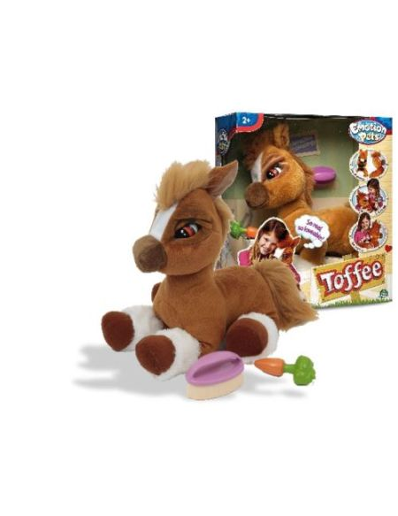Peluche interactive Toffee Mon poney Toffee