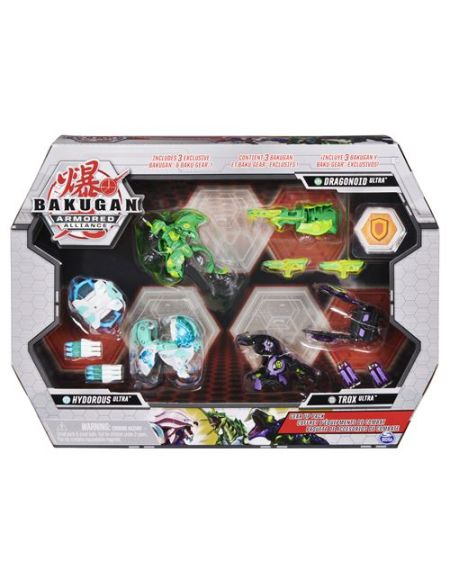 Coffret Bakugan Gear Up Pack Saison 2