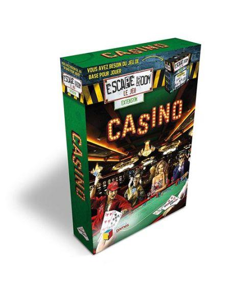 Jeu de société Identity Games Escape Room Pack extension Casino