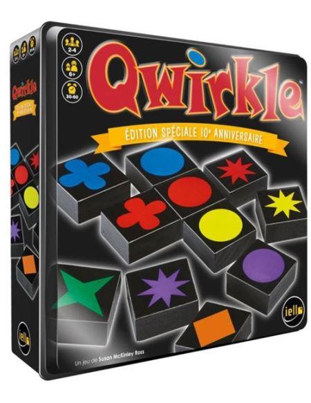 Jeu de société Iello Qwirkle édition anniversaire